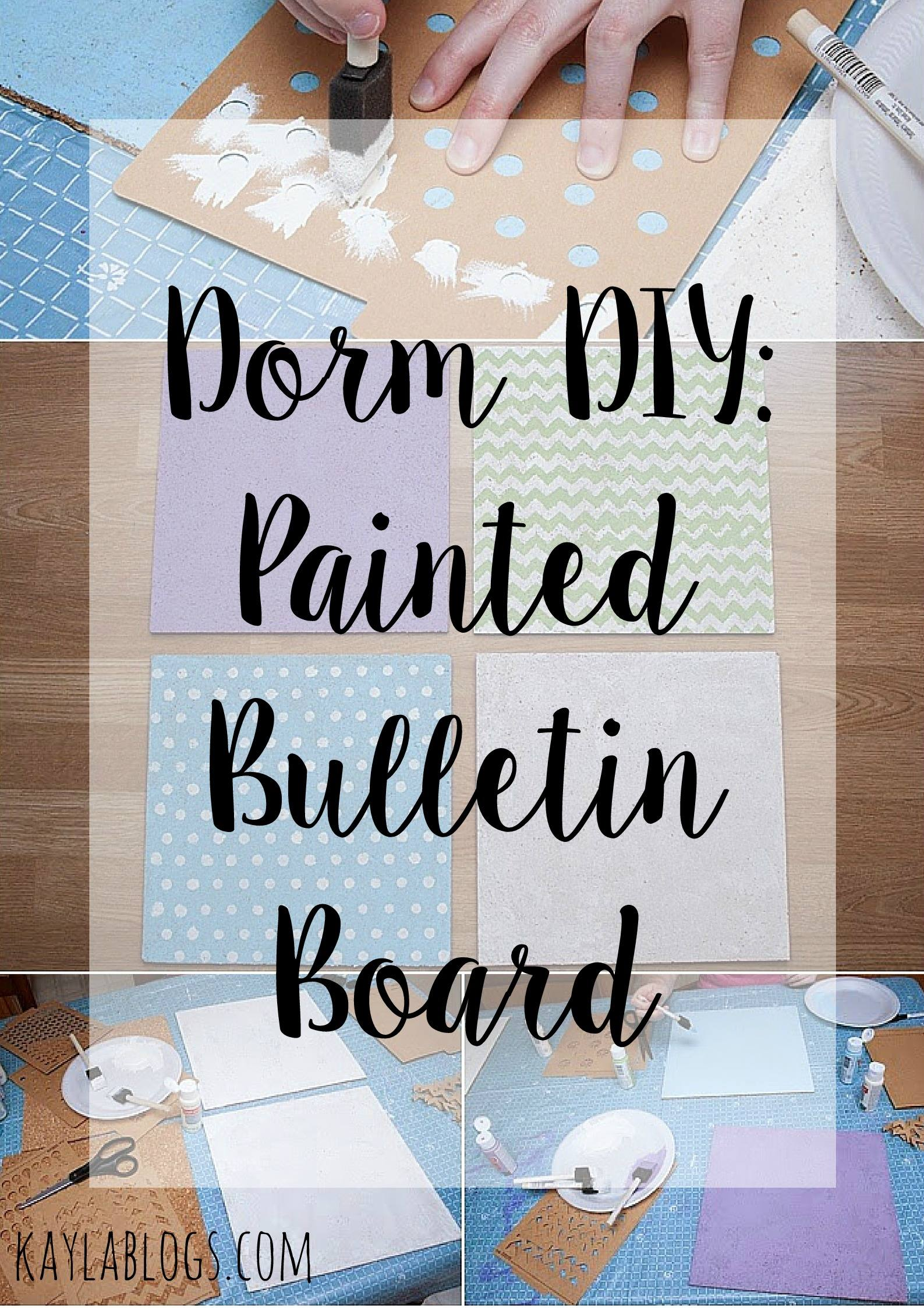 Dorm DIY Bulletin Board