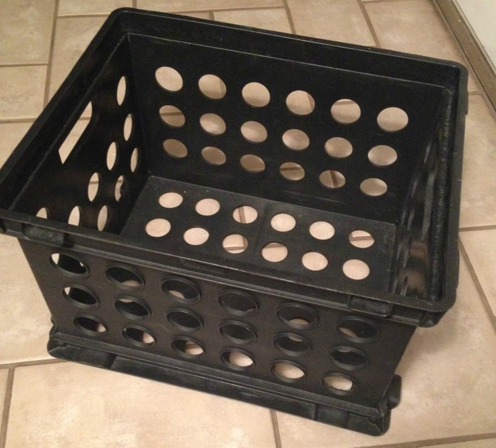 DIY Cushioned Storage Crates