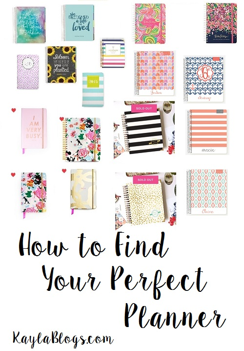 Perfect Planners for College Students! How to find your perfect planner.