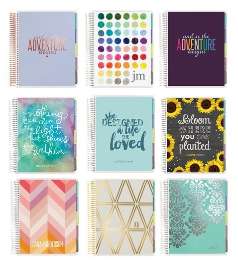 How to find your perfect planner! Erin Condren Life Planners