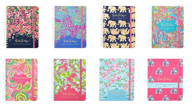 How to find your perfect planner! Lilly Pulitzer agendas