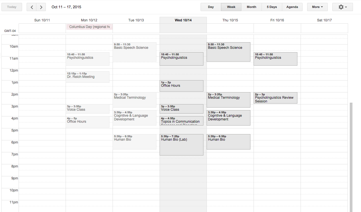 How I Use Google Calendar - Kayla Blogs