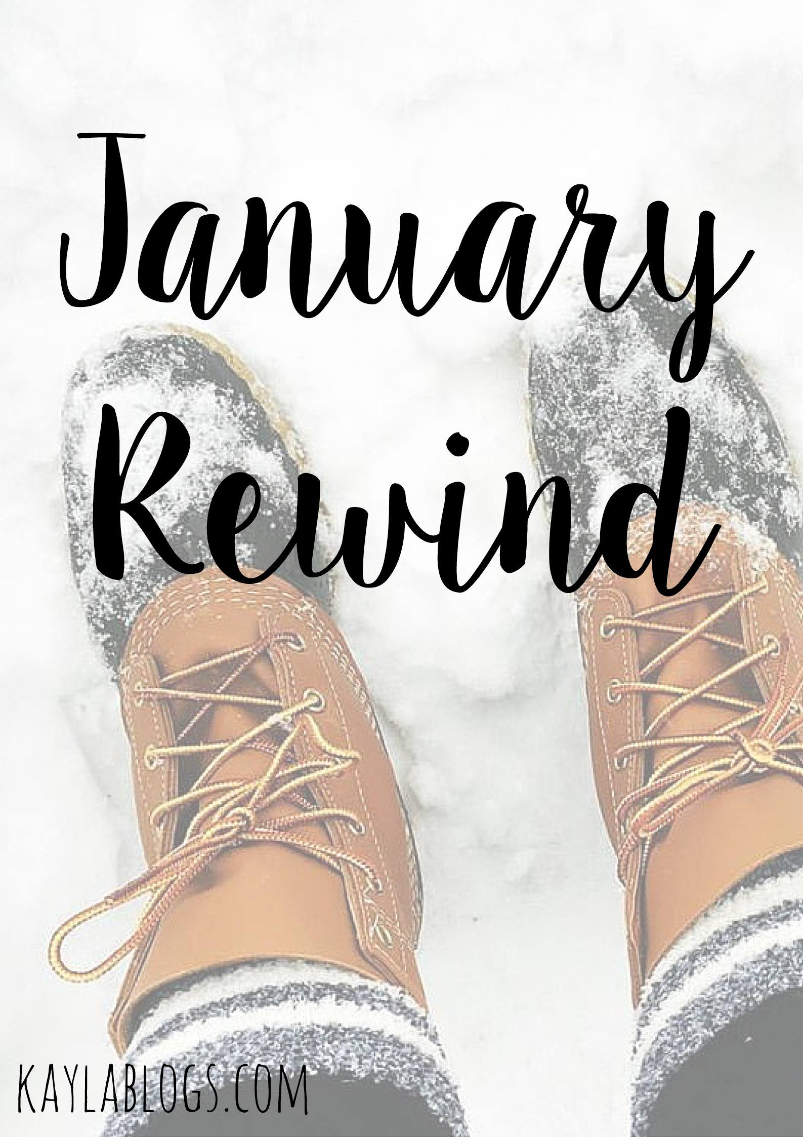 January Rewind + GIVEAWAY