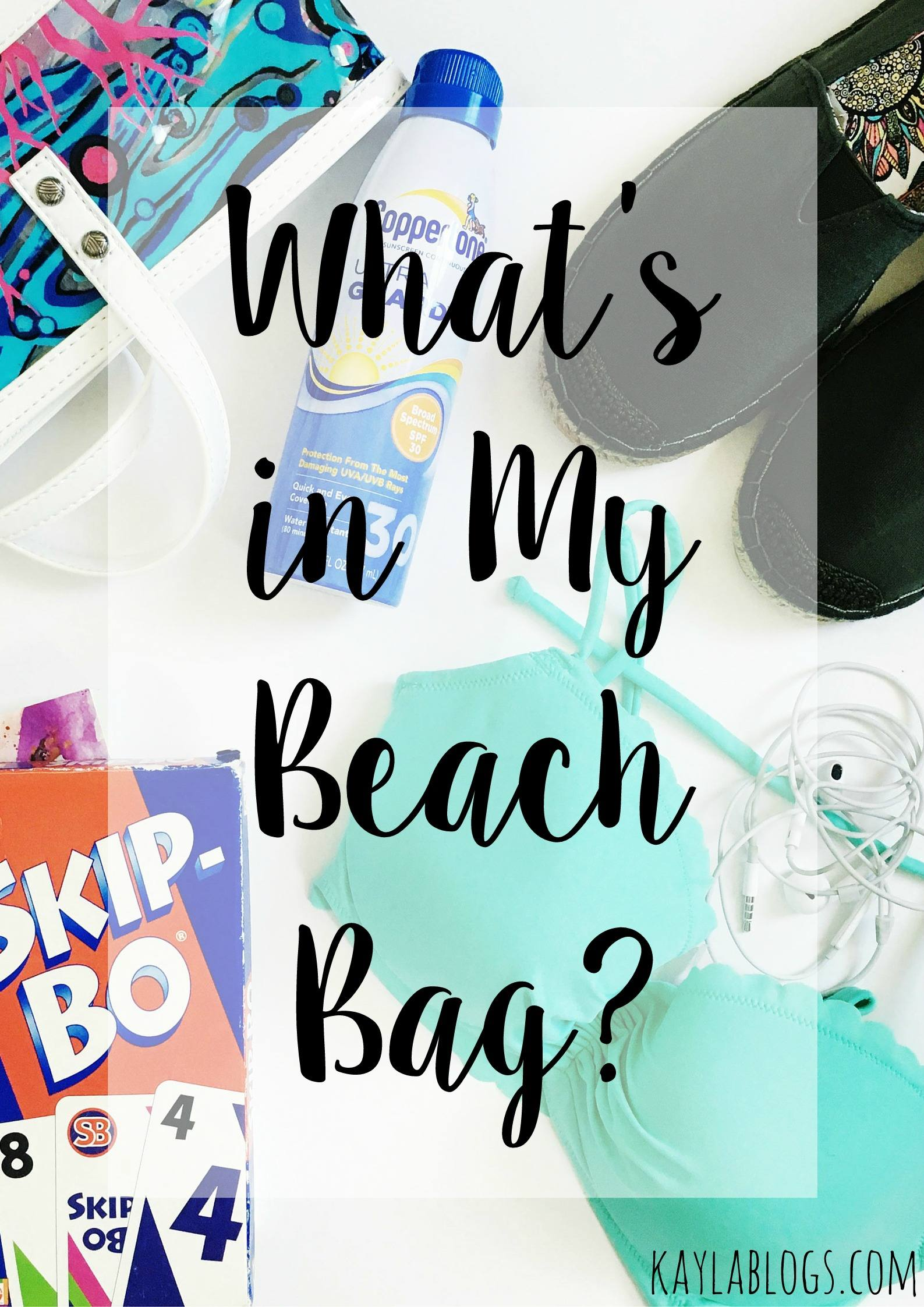 What's In My Beach Bag? featuring Sakroots