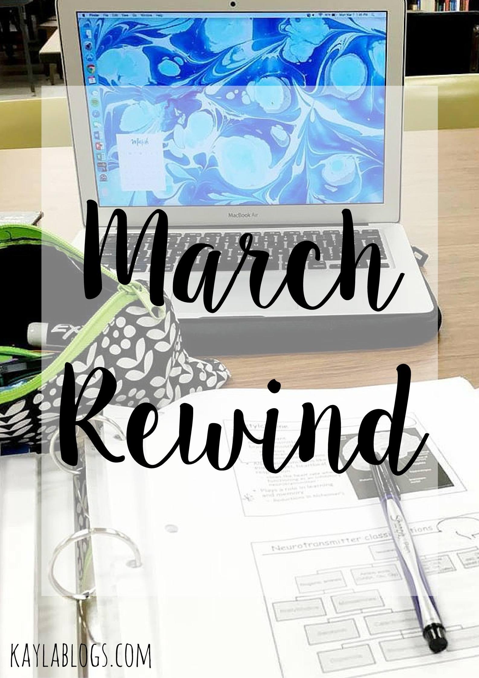 March 16 Rewind