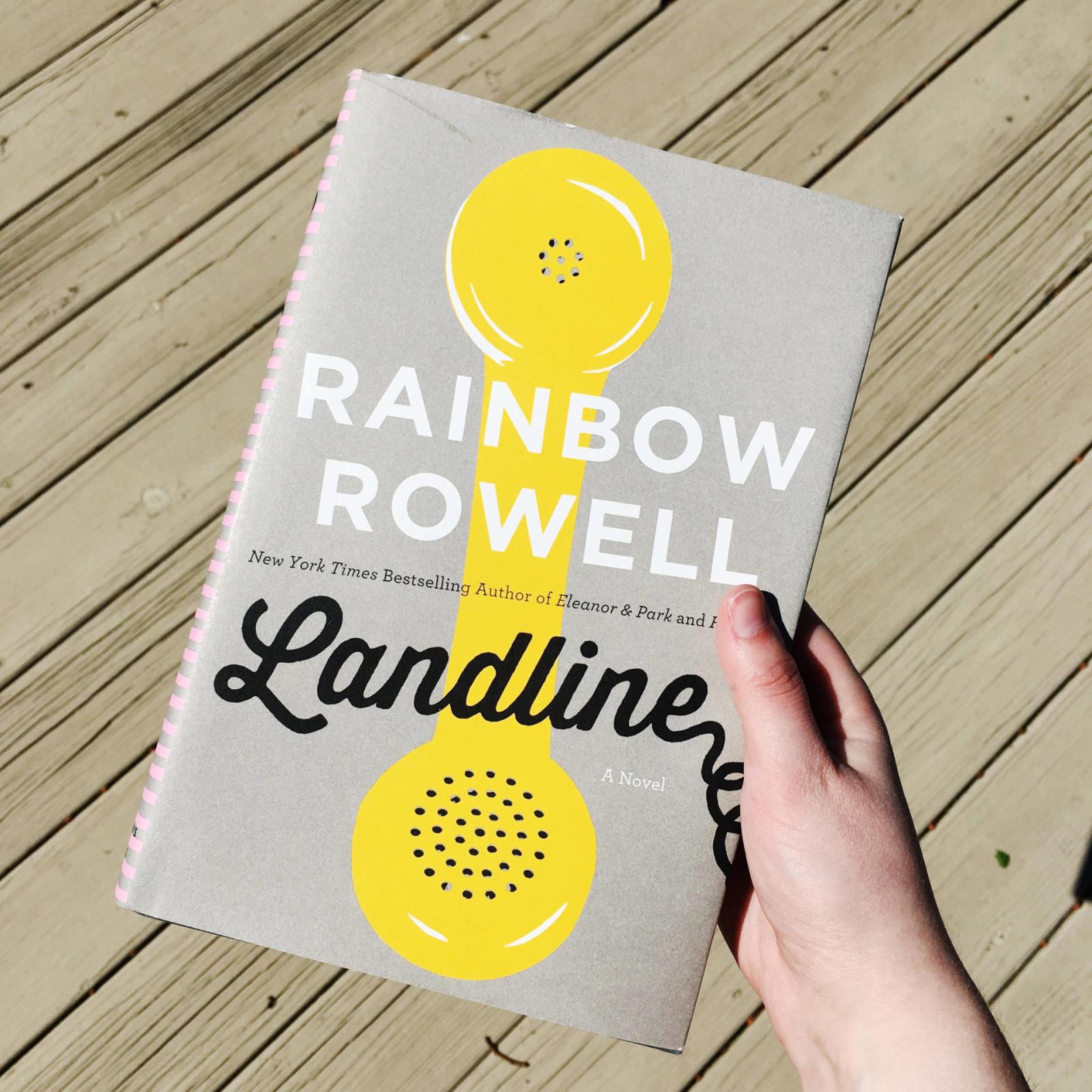landline rainbow rowell book cover