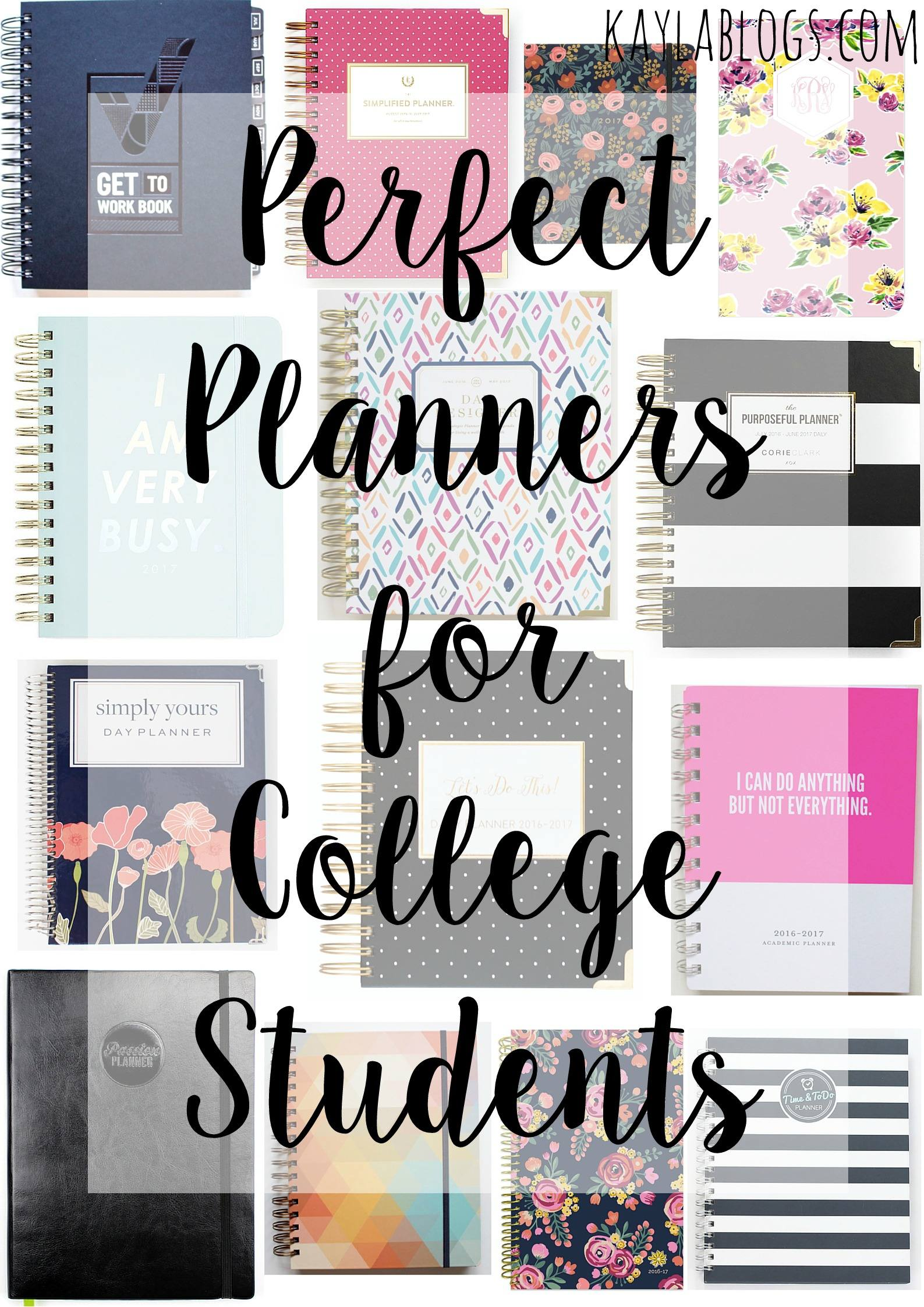cute agendas for college students cute agendas