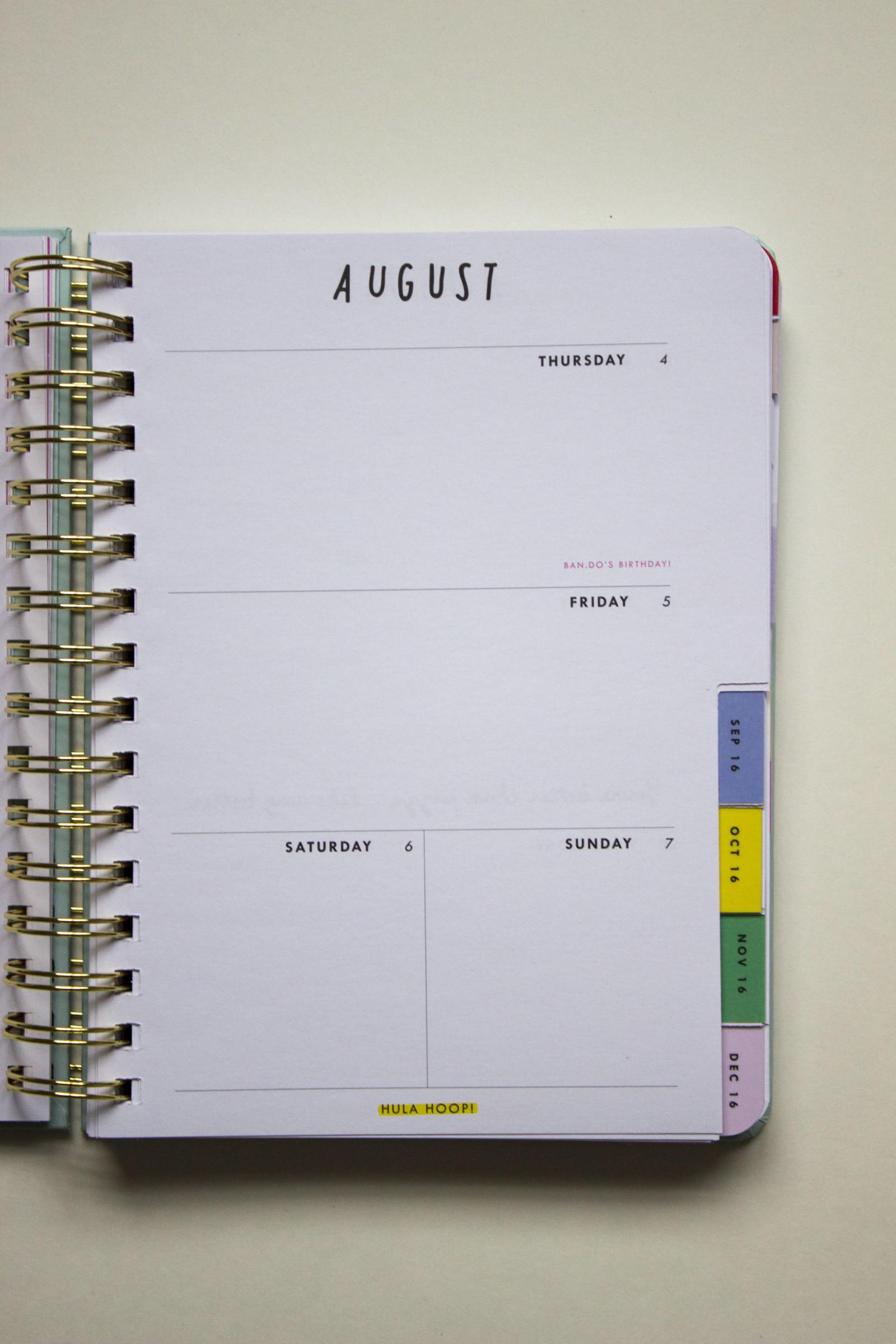 bando weekly page