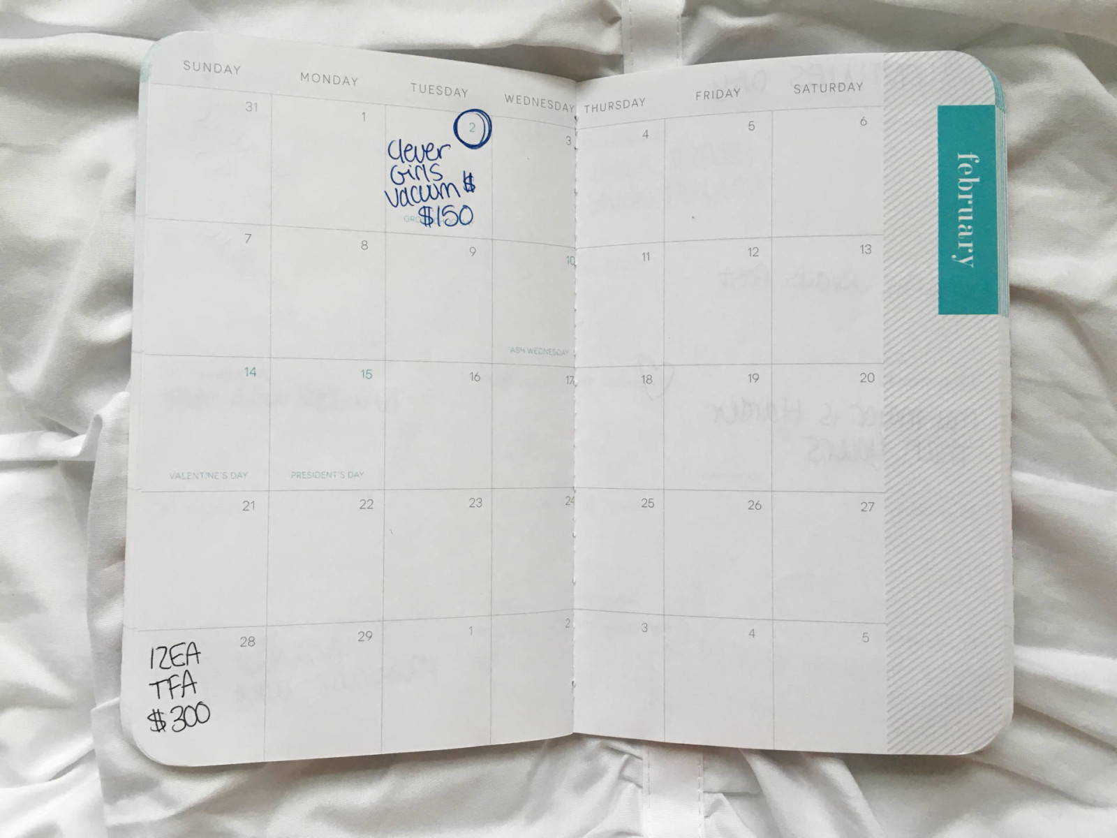 May Designs blog planner