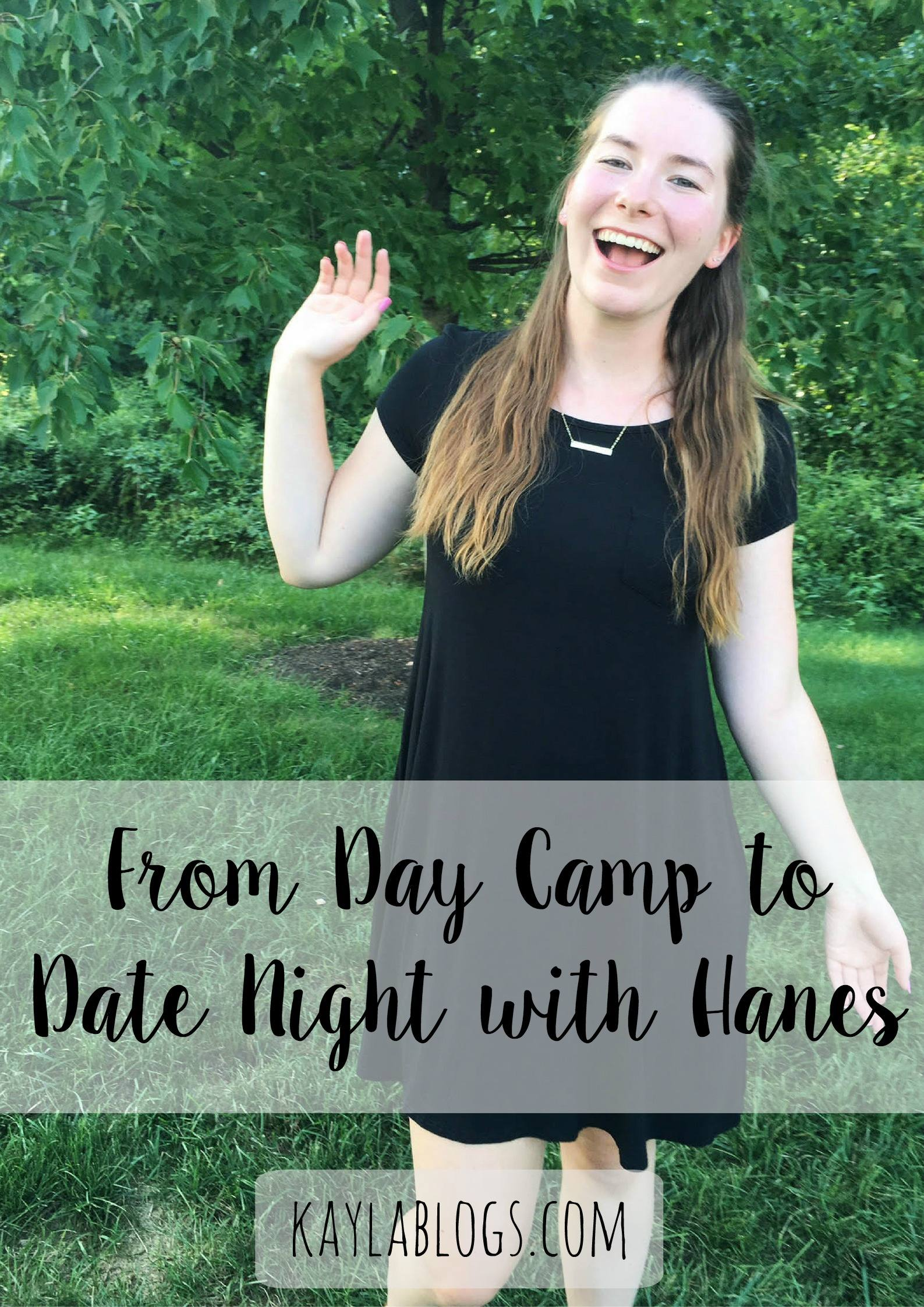 From Day Camp to Date Night with Hanes