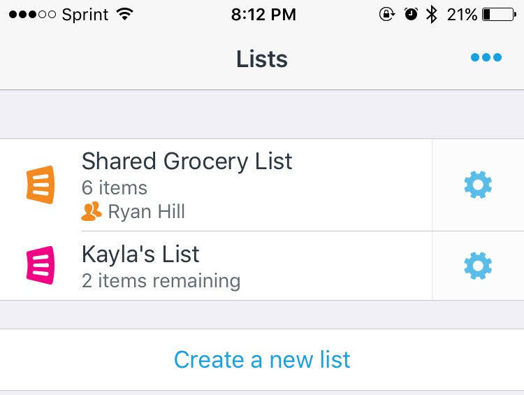 apps for roommates anylist