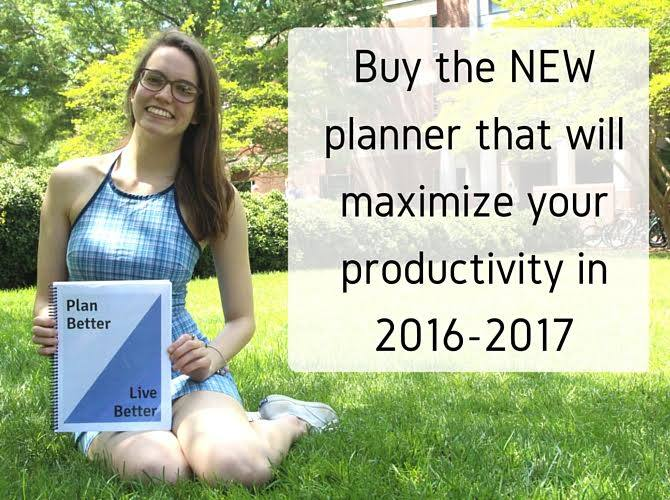 printable planners for college students