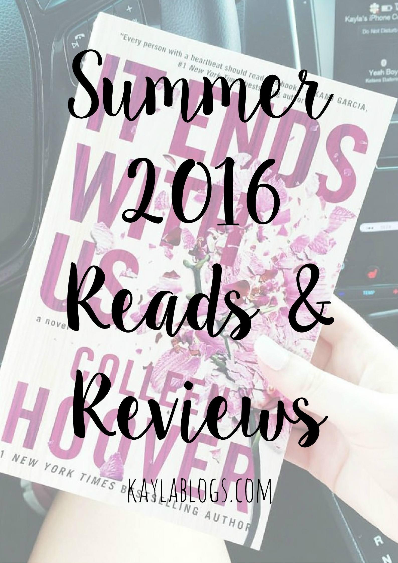 2016 Summer Reads