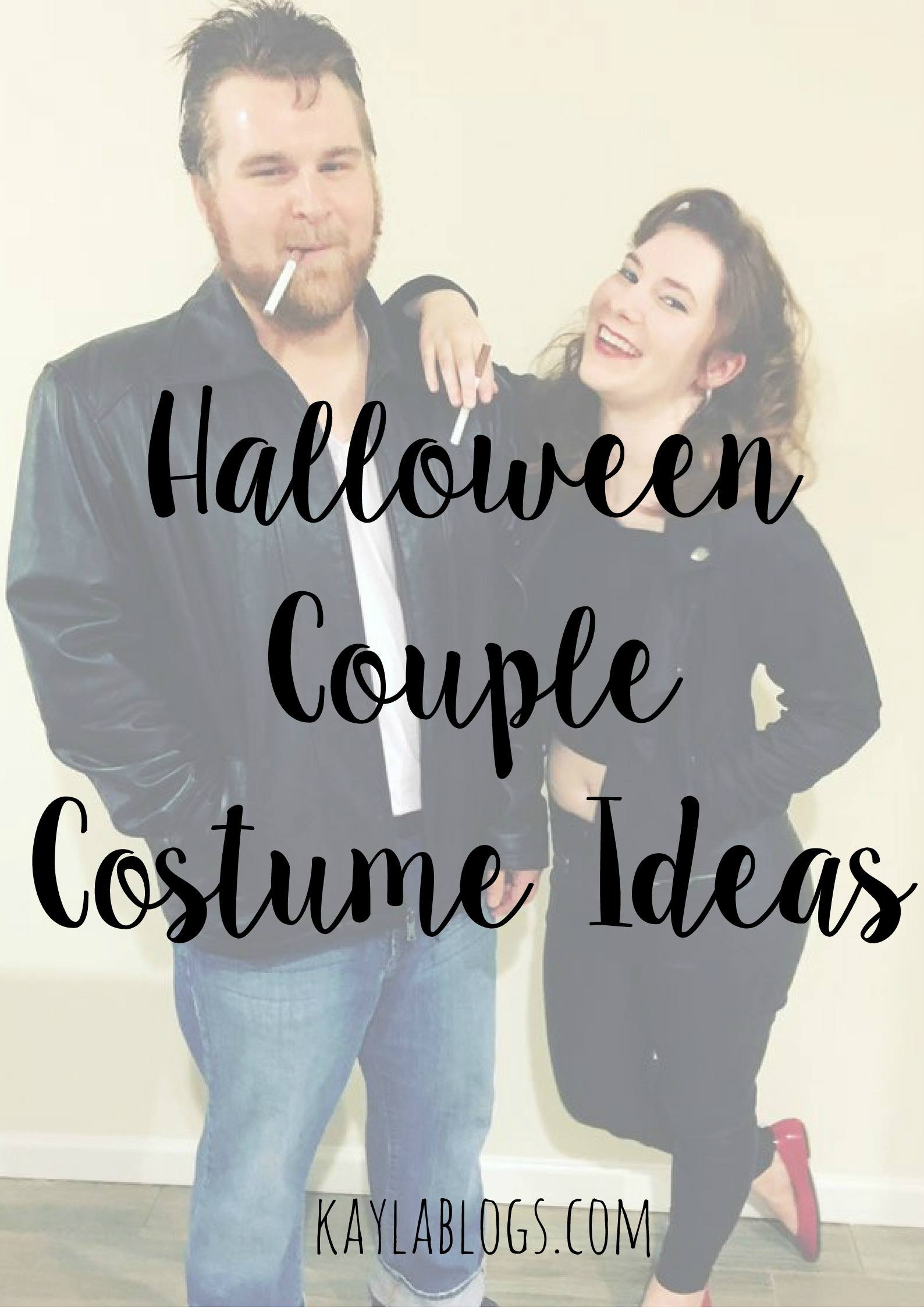 Halloween Couple Costume Ideas + Link Up!