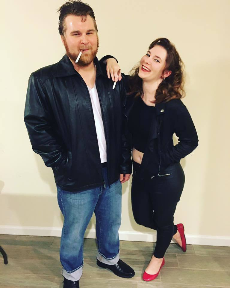 danny and sandy costume ...  sc 1 st  Kayla Blogs : grease couple costumes  - Germanpascual.Com