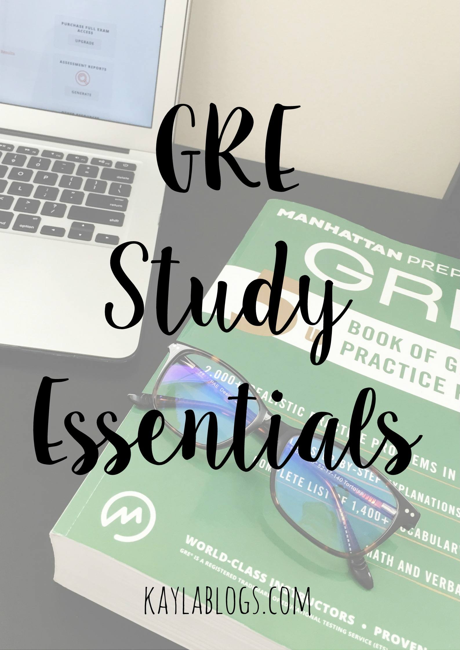 gre study essentials
