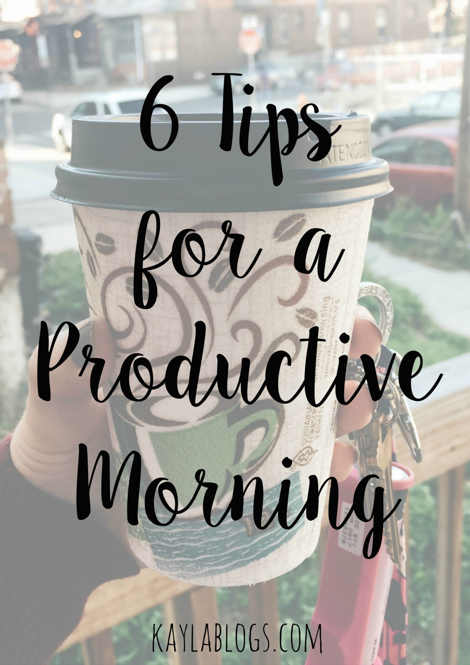 tips for a productive morning