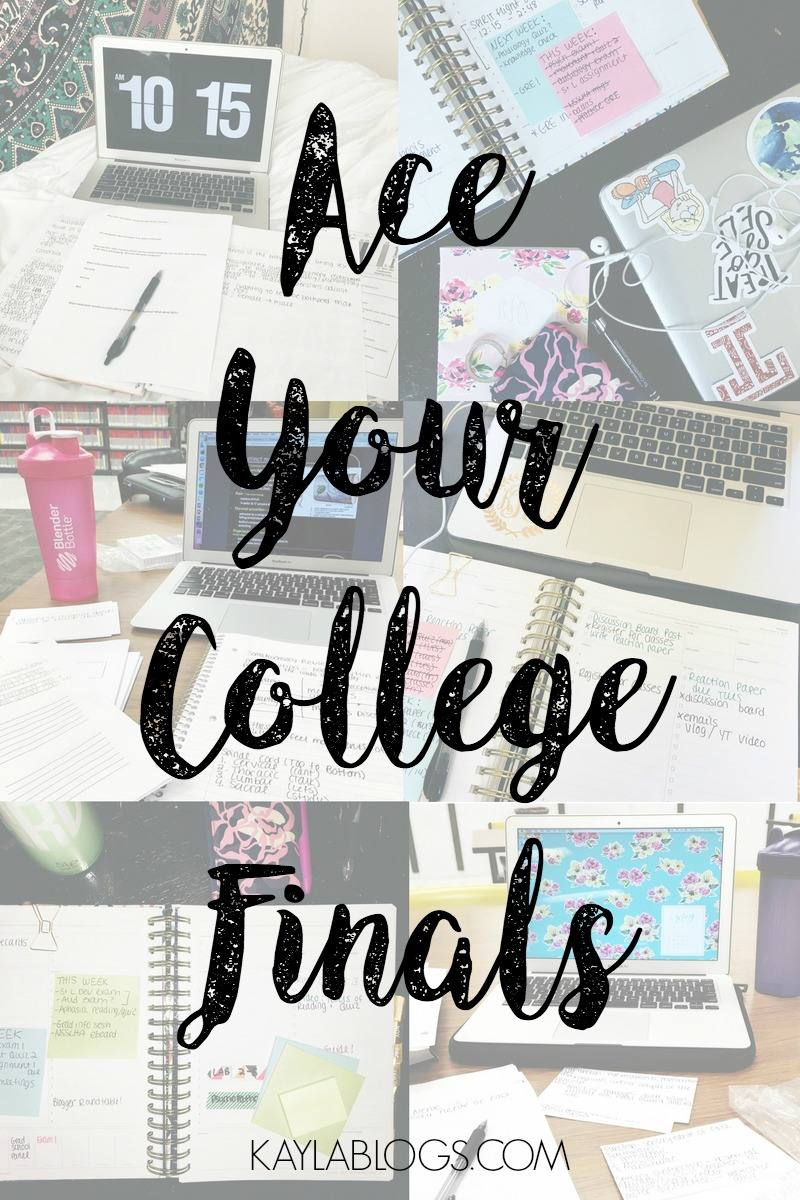 ace your finals roundup