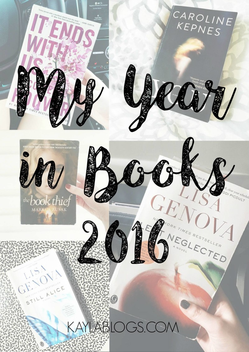 2016 books read