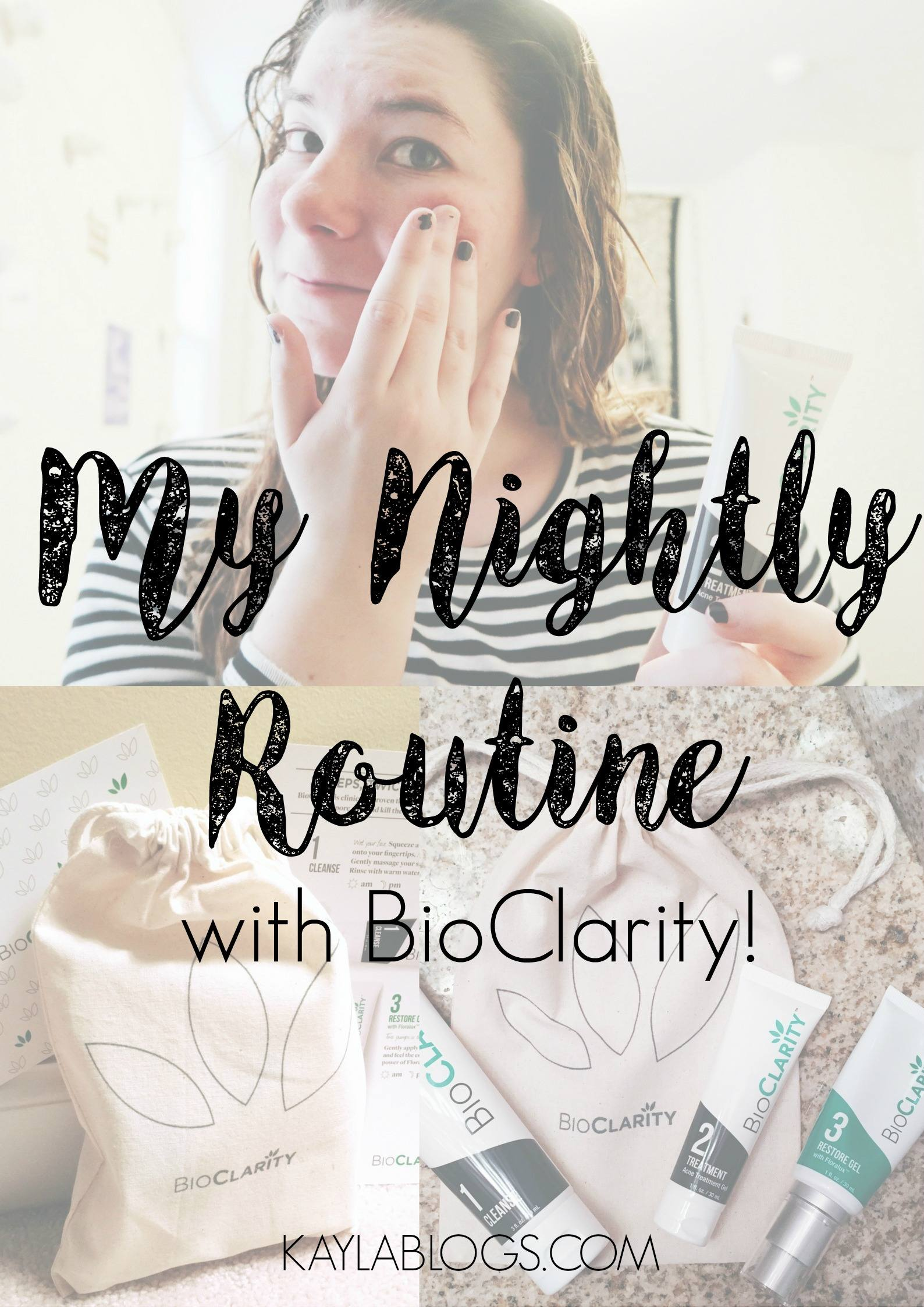 BioClarity Nightly Routine