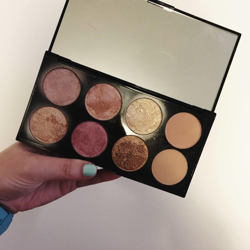 makeup revolution rose gold palette