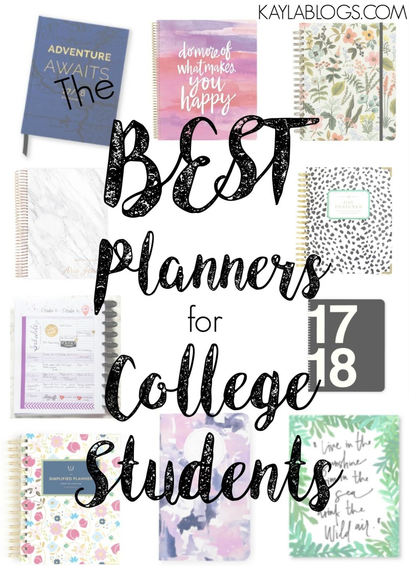 Perfect Planners for College Students | 2017 Edition