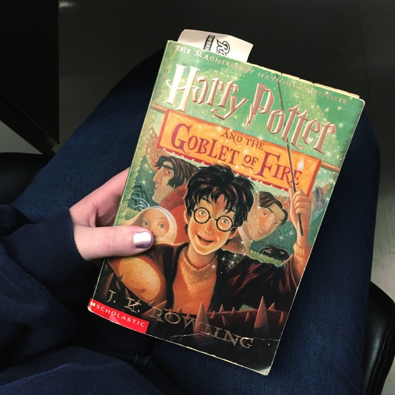 harry potter book four