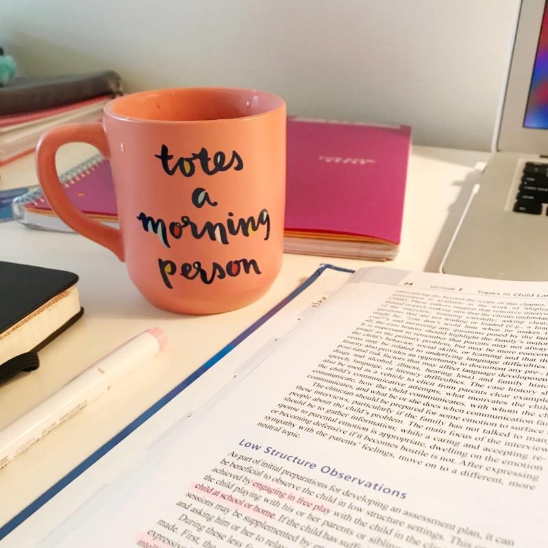 kayla blogs morning routine