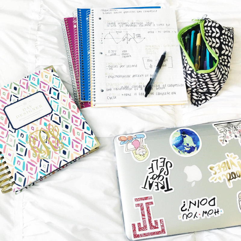 notes and planner