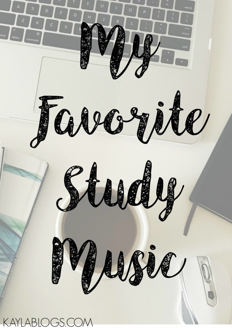 My Favorite Spotify Playlists for Studying