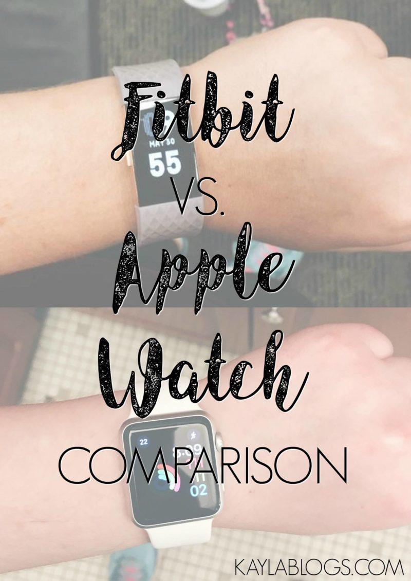 Apple Watch vs. Fitbit Charge 2 Comparison
